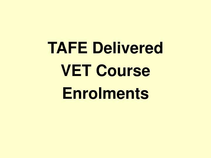 TAFE Delivered