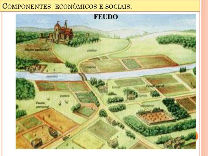 Componentes  econômicos e sociais.