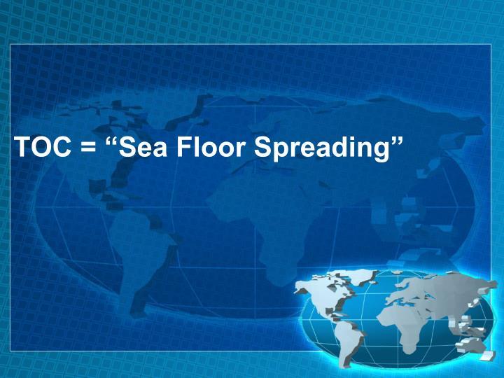 "TOC = ""Sea Floor Spreading"""
