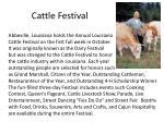 cattle festival