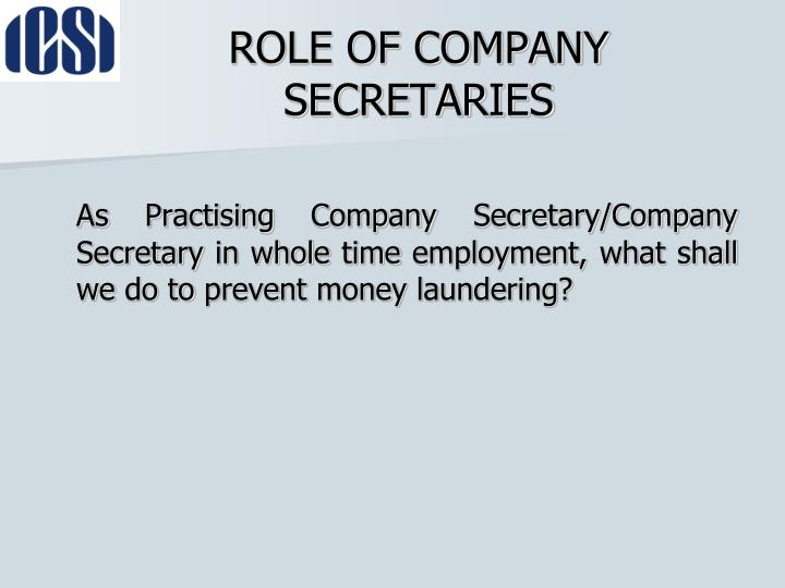the role of rbi in prevention of money laundering essay Cific actions countries need to take to address them and the role international reference guide to anti-money laundering and combating the financing of terrorism.