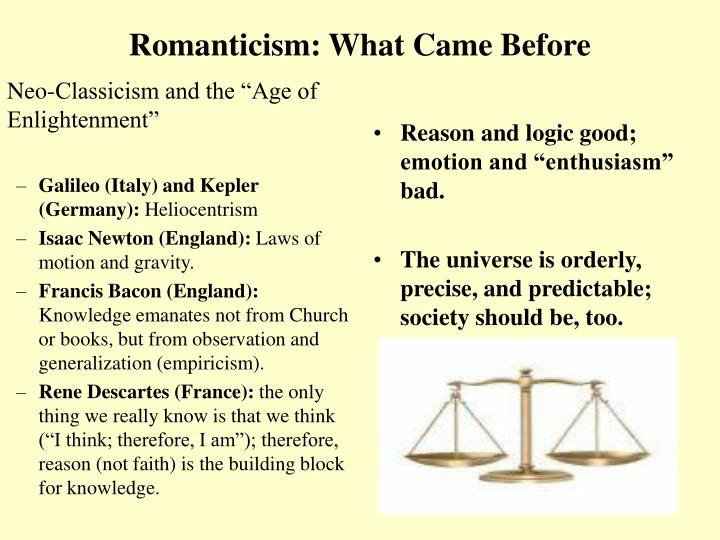 """Neo-Classicism and the """"Age of Enlightenment"""""""