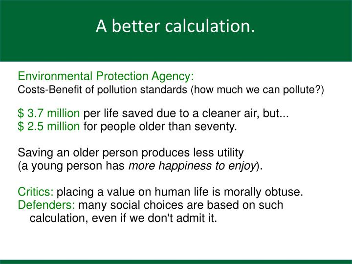 Environmental Protection Agency:
