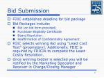 bid submission