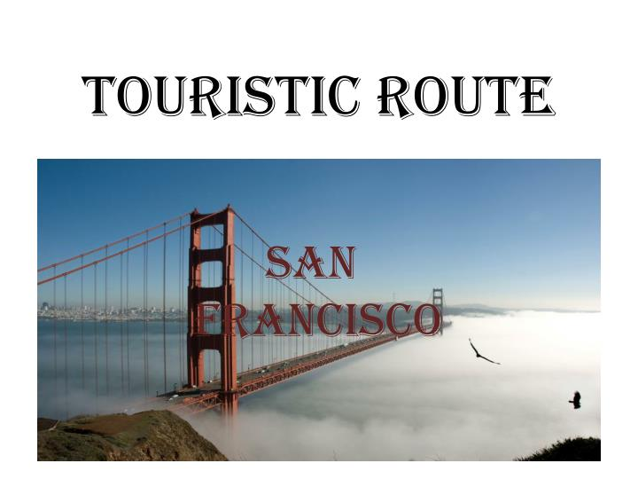touristic route n.