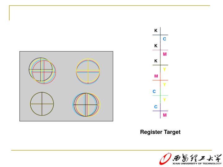 Register Target