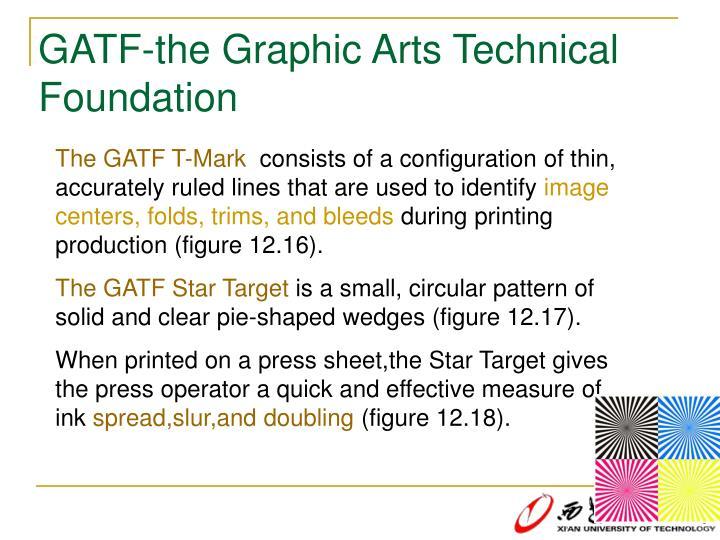 GATF-the Graphic Arts Technical Foundation