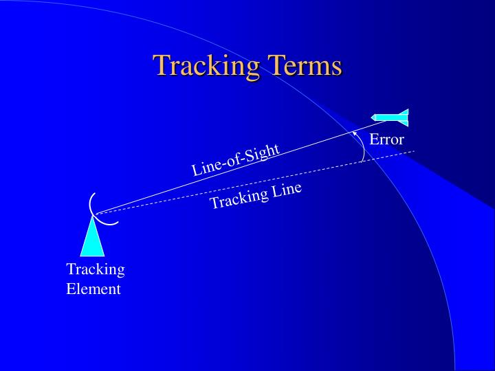 Tracking Terms