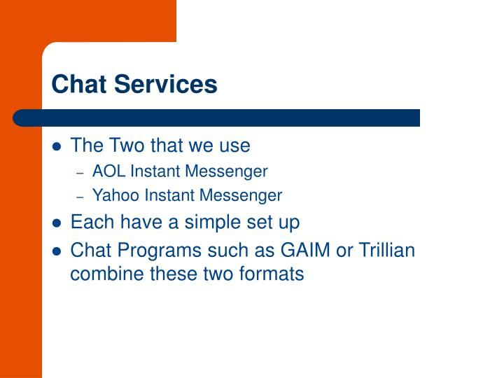 Chat Services