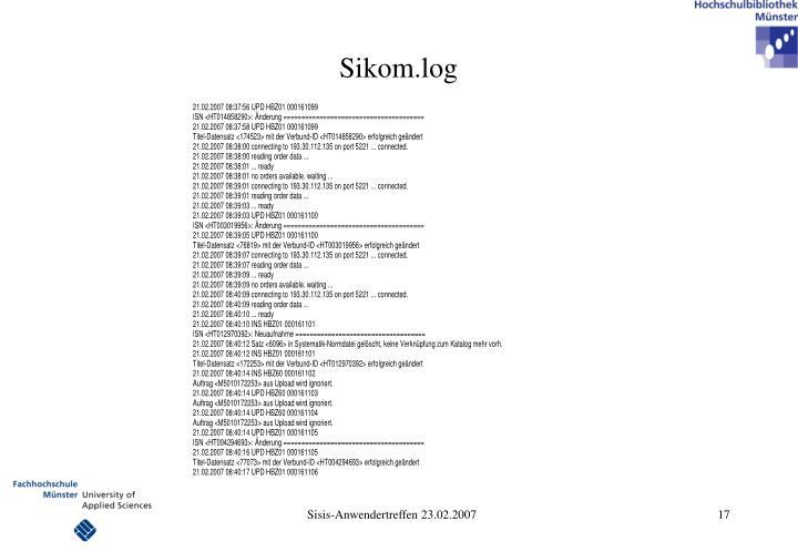 Sikom.log