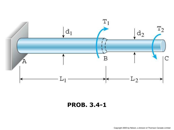 PROB. 3.4-1