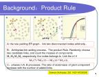background product rule