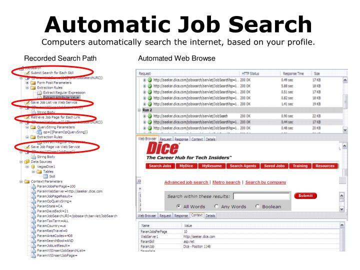 Automatic Job Search