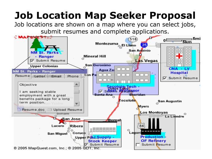 Job Location Map Seeker Proposal
