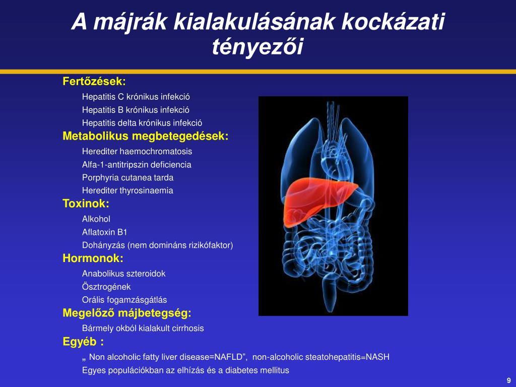 májrák és cirrhosis