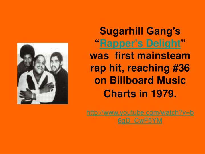 "Sugarhill Gang's """