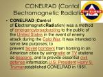 conelrad contal electromagnetic radiation