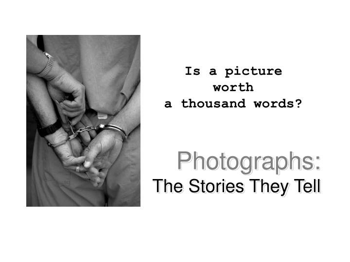 photographs the stories they tell n.