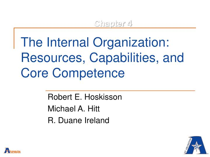 6 determine toyota the company s resources capabilities and core competencies To determine resources, capabilities, and core firm's unique resources, capabilities, and core capabilities become core competencies:.