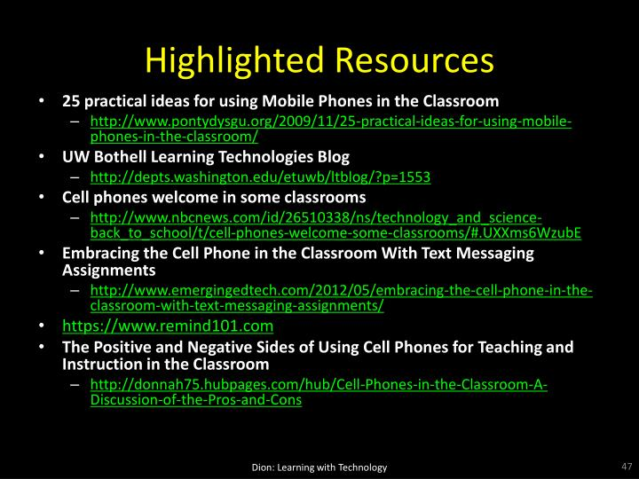 Highlighted Resources