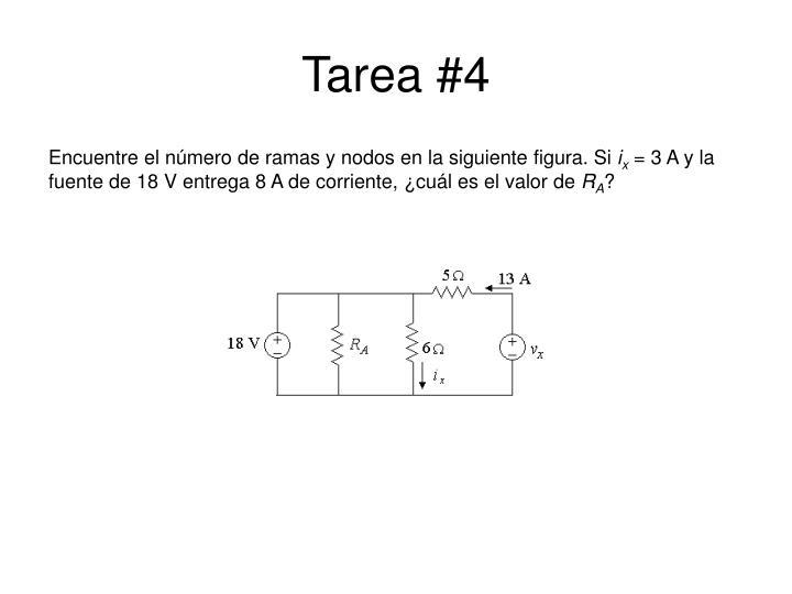 Tarea #4