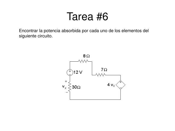Tarea #6