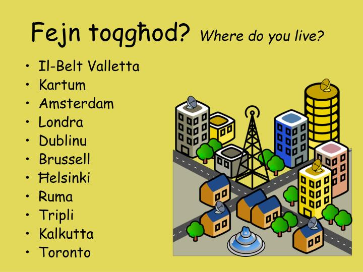 where do you live