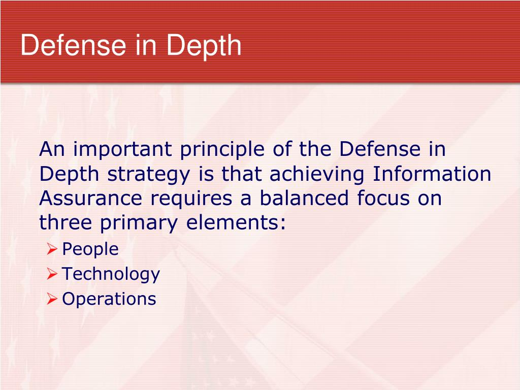 Ppt Defense In Depth Powerpoint Presentation Free Download Id