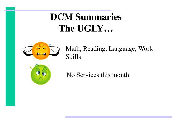 DCM Summaries