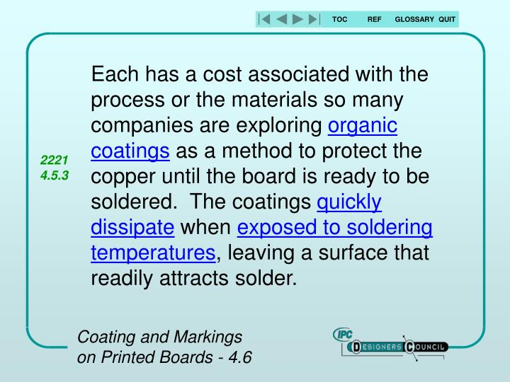 Each has a cost associated with the process or the materials so many companies are exploring