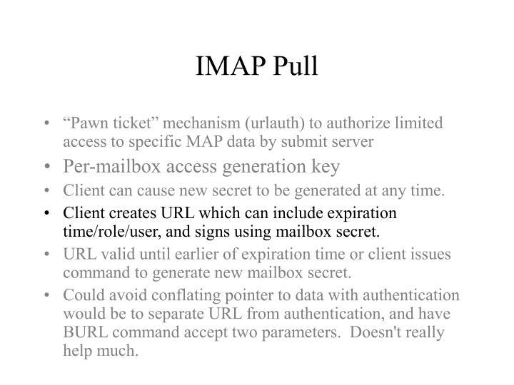 IMAP Pull