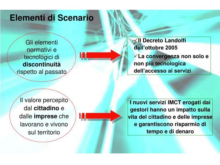 Elementi di Scenario