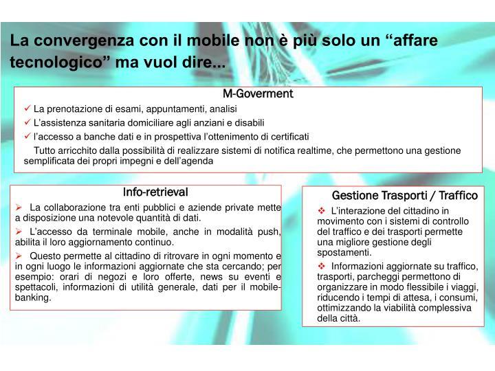 Gestione Trasporti / Traffico