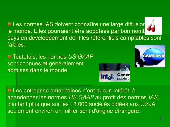 La rivalité entre les normes US GAAP et IAS