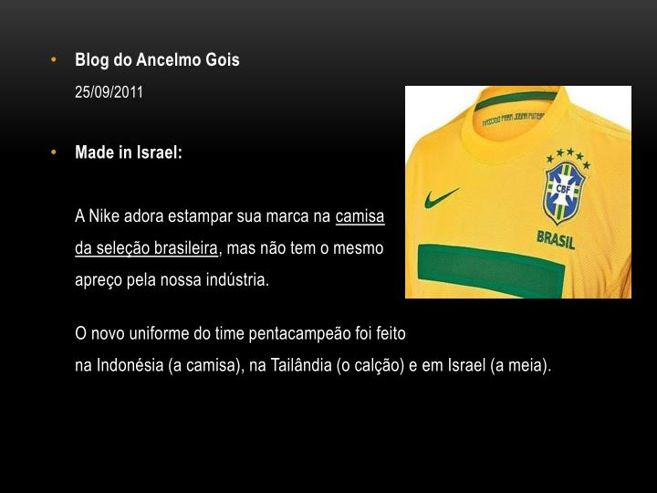 Blog do Ancelmo Gois