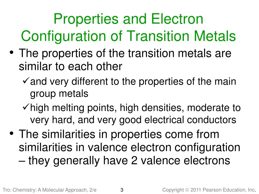 PPT - Chapter 24 Transition Metals and Coordination ...