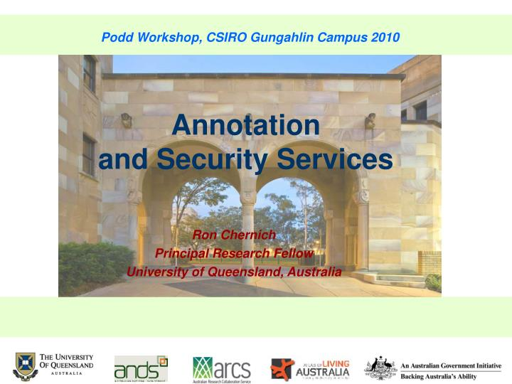 Podd Workshop, CSIRO Gungahlin Campus 2010
