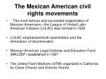 the mexican american civil rights movements