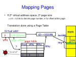 mapping pages