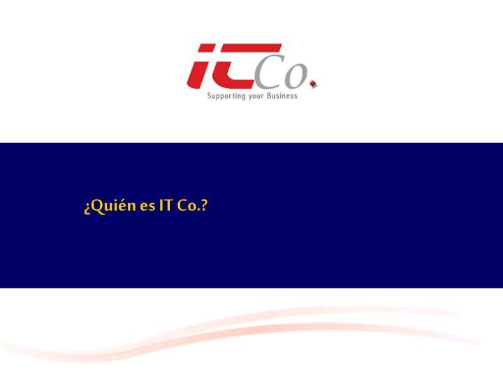 ¿Quién es IT Co.?