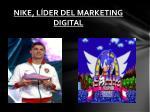 nike l der del marketing digital