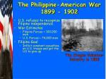 the philippine american war 1899 1902