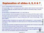 explanation of slides 4 5 6 7