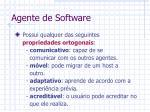 agente de software8