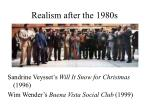 realism after the 1980s3