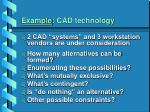 example cad technology