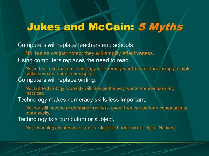 Jukes and McCain: