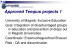 approved tempus projects 1