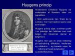 huygens princip