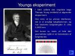 youngs eksperiment